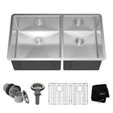 undermount kitchen sinks kitchen sinks the home depot