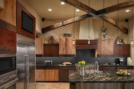 Luxury Rustic Kitchen Interior Design