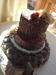 This 10 And 8 Tiered Cake Is Chocolate Through Fudge Pudding Filling Buttercream Mmmm Yummy