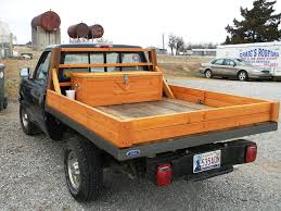 Custom Hand Built All Wooden Truck Bed Made From Recycled Barn ...