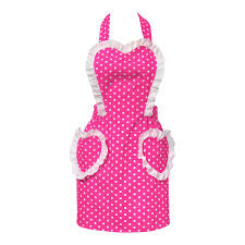 Carolyns Kitchen Sweetheart Apron Hot Pink Clothing Pinterest