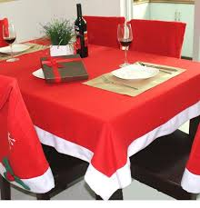 Christmas Hat Dinner Cloth Chair Covers Desk Santa Clause Red Cap Cover Case Set Xmas Party Decor Aaa715 For Dining Room Chairs