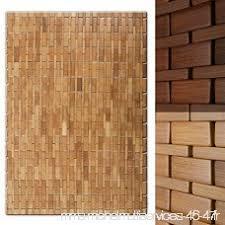 tapis de bain casa pura en bambou tapis de sauna 2