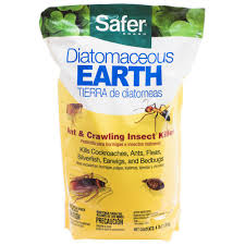 Safer Brand 4 lb Diatomaceous Earth Bed Bug Flea Ant
