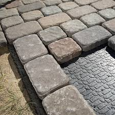 Installing 12x12 Patio Pavers by How To Design And Build A Paver Walkway