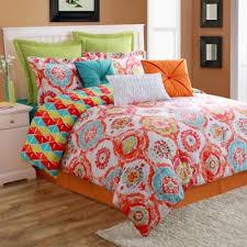 Orange And Blue forter Sets Home Decor 36