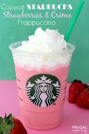 Pumpkin Frappuccino Starbucks by Best 25 Starbucks Strawberry Frappuccino Ideas On Pinterest