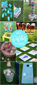 17 DIY Games For Outdoor Family Fun - Home Stories A To Z Backyard Landscaping Ideas Diy Best 25 Diy Backyard Ideas On Pinterest Makeover Garden Garden Projects Cheap Cool Landscape 16 Amazing Patio Decoration Style Outdoor Cedar Wood X Gazebo With Alinum Makeover On A Budget For Small Office Plans Designs Shed Incridible At Before And Design Your Fantastic Home