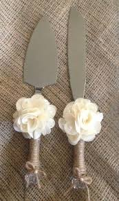 Rustic Wedding Cake Knife And Server By RubyRedBirdCreations 3500