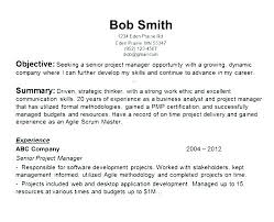 Objectives Of Resumes Career Objective For Resume Examples Professional In Samples Ideas Great