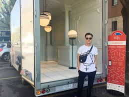 100 Truck Designer Lee Broom Turns His Delivery Van Into A Mobile Showroom