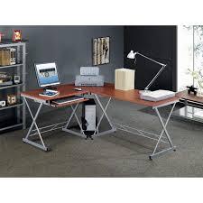 Wayfair Corner Computer Desk by Furniture Rta 3806 Techni Mobili Tempered Glass Computer Desk