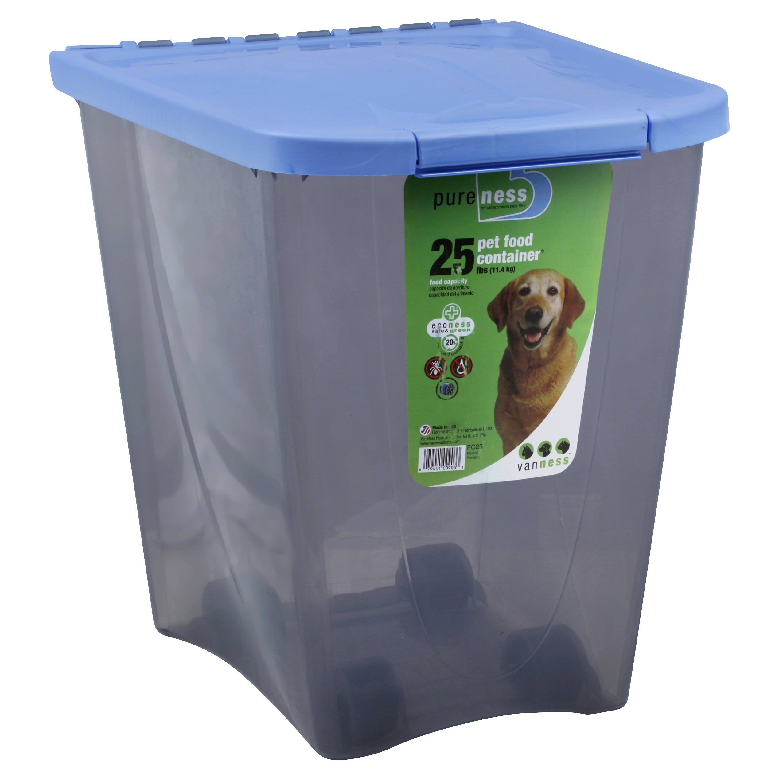 Van Ness Pet Food Container