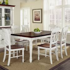 Farmhouse Style Dining Table Finest Alluring Black Kitchen Tables And Chairs Sets 3 Winsome 14