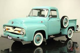 100 Ford Truck Restoration 1955 F100 Hood Awesome 1955 Ford F100 Instructions
