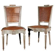 louis xvi chair antique suite of eight antique louis xvi style painted dining chairs for