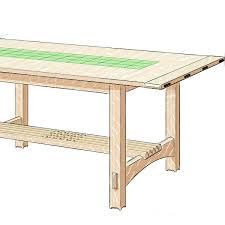 how to build a coffee table in the arts and crafts style