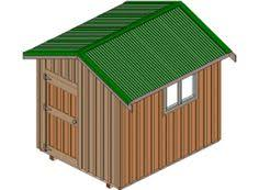 10 X 16 Shed Plans Free by 10x16 Modern Shed Plans With Door On The End 10x16 Shed Plans
