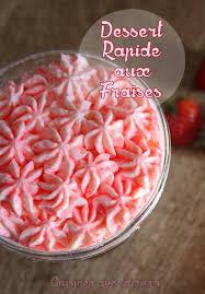 mascarpone recette dessert rapide dessert rapide aux fraises chantilly mascarpone desserts mousses