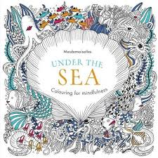 Under The Sea Colouring For Mindfulness Amazoncouk Mesdemoiselles BooksAdult
