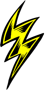Free Clip Art Of Lightning Clipart 1582 Best Bolt