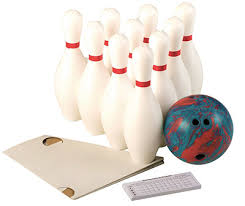 Weighted 10 Pin Bowling Set