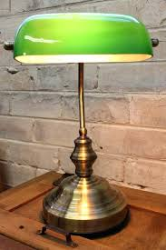 Green Bankers Lamp Shade Replacement by Bankers Lamps White Glass Bankers Pharmacy Shade Standard