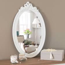 miroir blanc h 65 cm romane maisons du monde