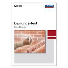 EignungsTest BauBerufe Online