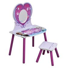 delta children frozen vanity and stool set pink target