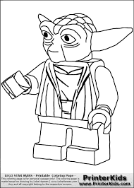 Yoda Star Wars Coloring Pages 7