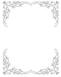 Good Borders And Frames For Wedding Invitation Or Vintage Border Google Search Luxury