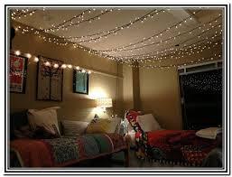 String Lights Bedroom Ceiling String Lights In Bedroom Ideas Cute