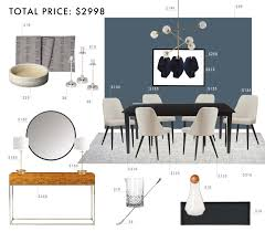 Emily Henderson Budget Room Design Modern Traditional Dining Under 3000