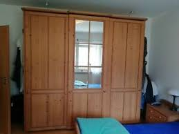 details zu schlafzimmer komplett fichte gebürstet massiv holz landhausstil schrank kommode