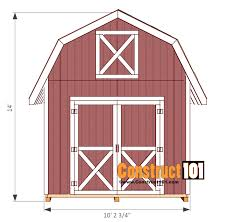 12x12 Shed Plans With Loft by Shed Plans 12x12 With Loft 54 Images 10 39 X10 39 Gambrel