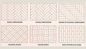 Different Parquet Flooring Patterns