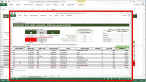 Excel Spreadsheet For Warehouse Inventory Free Example Pap