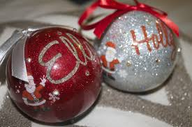 Christmas Tree Name Baubles by H U0026 Little E U0027s Christmas Eve Boxes 2014 Diary Of A Midlife Mummy