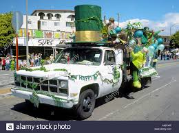 100 The Big Green Truck Green Hat Party Truck Participating In The St Patricks Day
