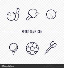 Games Linear Icons Chess Dice Cards Checkers And Other Board Game Thin Signs Outline Concept For Websites Infographic Mobile App