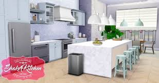 Shaker Kitchen UPDATED At Simsational Designs
