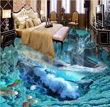 großhandel kundenspezifisches foto boden 3d tapeten wellen badezimmer boden wand 3d pvc tapete selbstklebende boden tapete 3d yeyueman9999 18 53