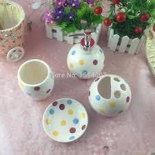 4 teile satz badezimmer set keramik tasse seifenkiste zahn