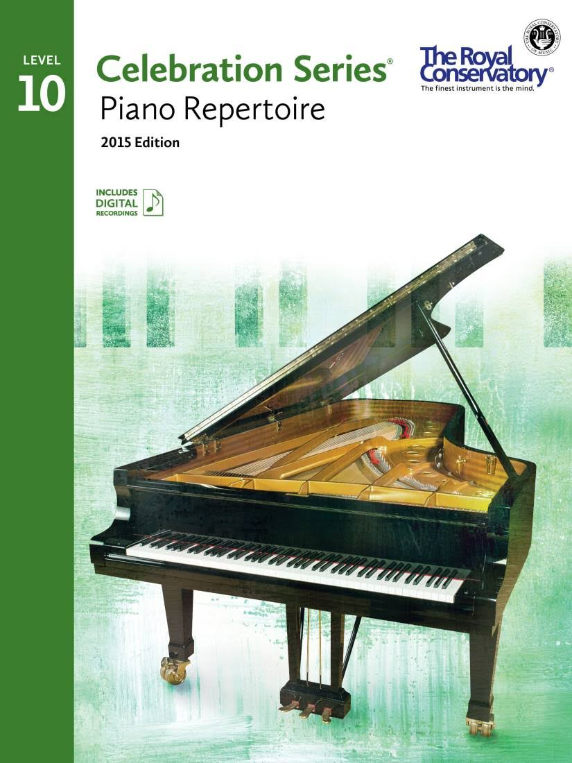 Celebration Series Piano Repertoire 2015 Edition, Level 10 - Royal Conservatory