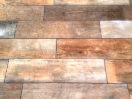 changing the colour of grout on a wood effect floor in