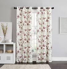 Burgundy Grommet Blackout Curtains by Burgundy Curtains Ebay