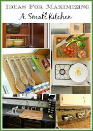 Great Ideas For Organizing Your Small Kitchen And Maximizing Space