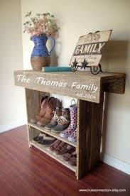 Storage Bench With Shoe Rack 1