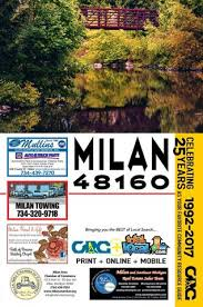 Total Local 2017 18 Milan MI Community Resource Guide By